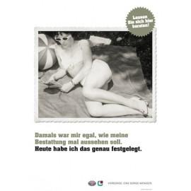 Backlit-Folien der Vorsorgeplakate 2011
